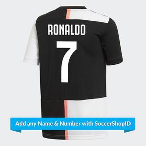 adidas Junior 2019-20 Juventus Home Shirt - RONALDO 7