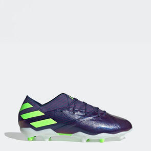 adidas Junior Nemeziz Messi 19.1 FG – Indigo/Green/Glory