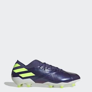 adidas Nemeziz Messi 19.1 FG – Indigo/Green/Glory