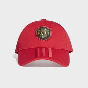 adidas Manchester United C40 Cap – Red