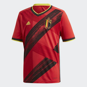 adidas 2020 Junior Belgium Home Shirt