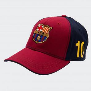 Barcelona Messi Cap – Maroon/Navy