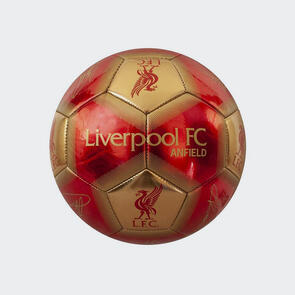 Liverpool Signature Ball – Red/Gold