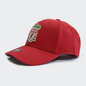Liverpool Basic Crest Cap – Red