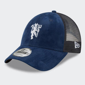 Manchester United New Era Mesh Devil 9Forty Cap – Navy