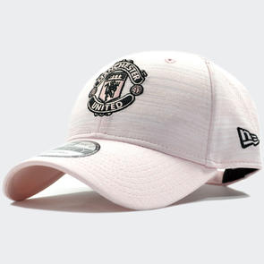 Manchester United New Era Pink Engineered 9Forty Baseball Cap – Pink