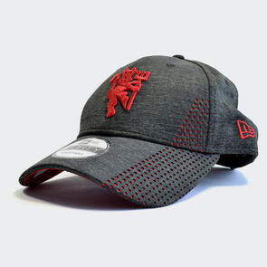 Manchester United New Era Shadowtech Perforated 9Forty Cap –  Charcoal