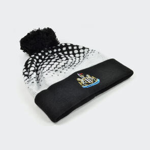 Newcastle United Bobble Hat Fade Design