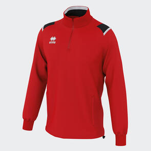 Erreà Lars 1/4 Zip Jacket – Red/Black/White