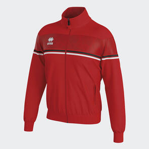 Erreà Donovan Full-Zip Jacket – Red/Black/White