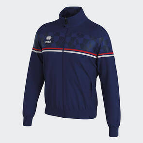 Erreà Donovan Full-Zip Jacket – Navy/Red/White