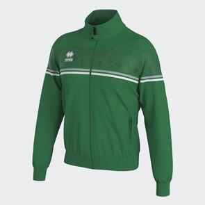 Erreà Donovan Full-Zip Jacket – Green/Grey/White