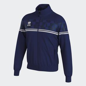 Erreà Donovan Full-Zip Jacket – Navy/Grey/White