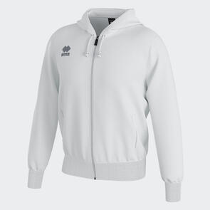 Erreà Jacob Full-Zip Hooded Track Jacket – White