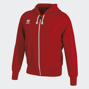 Erreà Jacob Full-Zip Hooded Track Jacket – Red