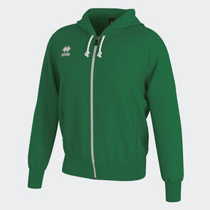 Erreà Jacob Full-Zip Hooded Track Jacket – Green