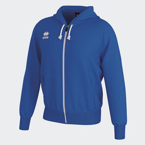 Erreà Jacob Full-Zip Hooded Track Jacket – Blue