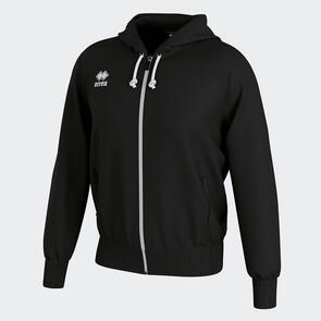 Erreà Jacob Full-Zip Hooded Track Jacket – Black
