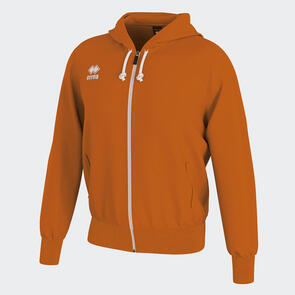Erreà Jacob Full-Zip Hooded Track Jacket – Orange
