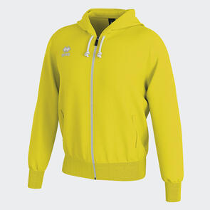 Erreà Jacob Full-Zip Hooded Track Jacket – Yellow-Fluo