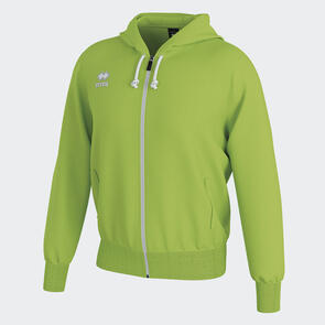 Erreà Jacob Full-Zip Hooded Track Jacket – Green-Fluo
