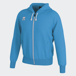 Erreà Jacob Full-Zip Hooded Track Jacket – Cyan