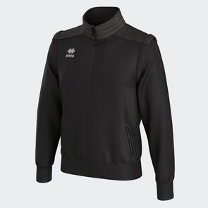 Erreà Dustin Jacket with Detachable Sleeves – Black