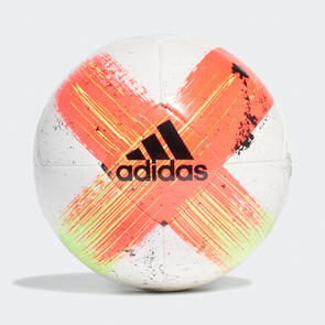 adidas Capitano Club Ball – White/Red/Black