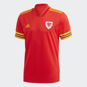 adidas 2020 Wales Home Shirt