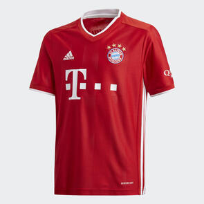 adidas Junior 2020-21 Bayern Munich Home Shirt