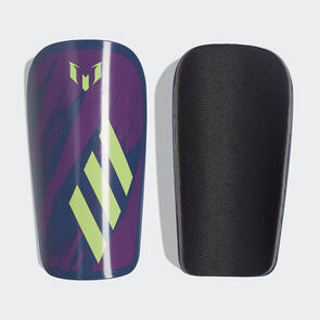 adidas Messi Club Shin Guards – Indigo/Green/Glory