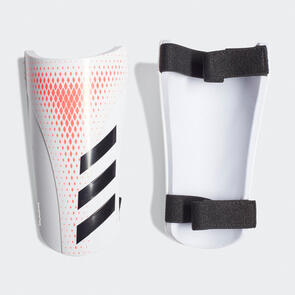 adidas Predator Training Shin Guards – White/Pop