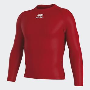 Erreà Daris Baselayer LS Shirt – Red