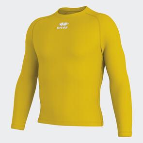Erreà Daris Baselayer LS Shirt – Yellow