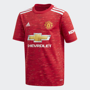 adidas Junior 2020-21 Manchester United Home Shirt