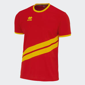 Erreà Jaro Shirt – Red/Yellow