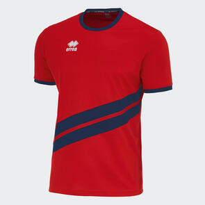 Erreà Jaro Shirt – Red/Navy