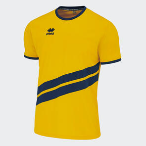 Erreà Jaro Shirt – Yellow/Navy