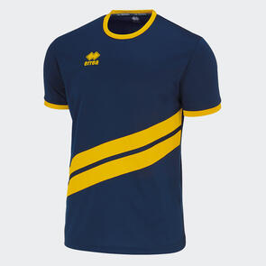 Erreà Jaro Shirt – Navy/Yellow