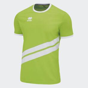 Erreà Jaro Shirt – Green-Fluo/White