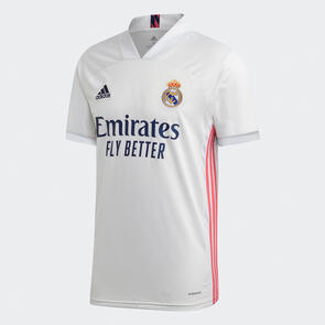 adidas 2020-21 Real Madrid Home Shirt