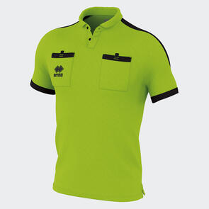 Erreà Doug Referees Shirt – Green-Fluo/Black