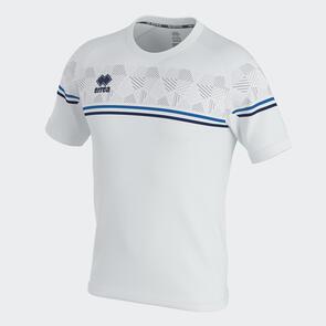 Erreà Diamantis Shirt – White/Blue/Navy