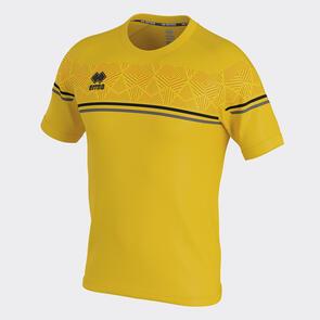 Erreà Diamantis Shirt – Yellow/Black/Anthracite
