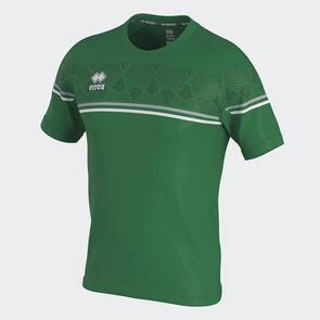 Erreà Diamantis Shirt – Green/Grey/White