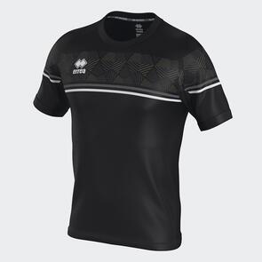 Erreà Diamantis Shirt – Black/Anthracite/White