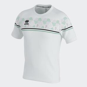 Erreà Diamantis Shirt – White/Black/After-Eight