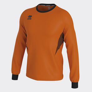 Erreà Malibu Goalkeeper Jersey – Orange-Fluo/Black