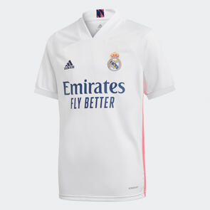 adidas Junior 2020-21 Real Madrid Home Shirt
