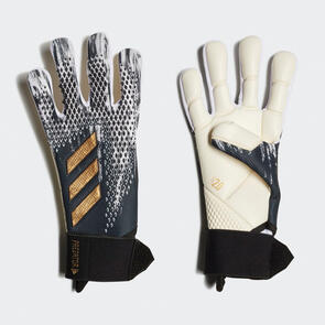 adidas Predator Competition GK Gloves – Black/White/Gold